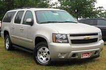 280px-2007 Chevrolet Suburban LT -- 07-10-2010 1