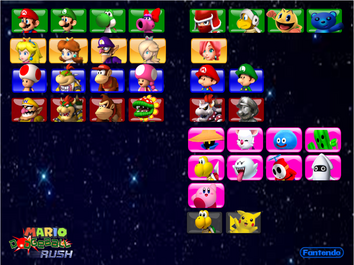 Full Character Roster MDR