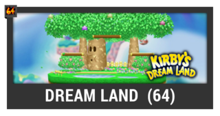 ACL -- Super Smash Bros. Switch stage box - Dream Land (64)