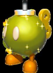 Golden Bob-Omb SMW3D
