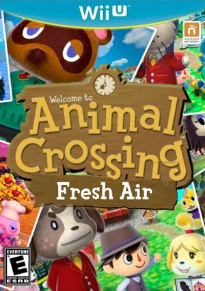 Animal Crossing FreshAir Boxart