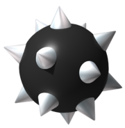Spiked Ball Art