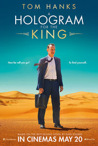 A Hologram For The King 2016 UK Poster