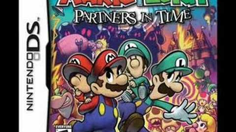 Mario & Luigi Partners In Time Music Title Screen