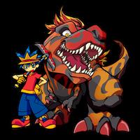 FossilFighter+TRex