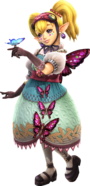 Hyrule Warriors - Agitha Artwork