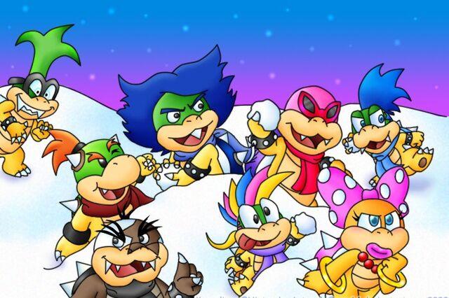 File:Christmas koopalings by Sam64.jpg