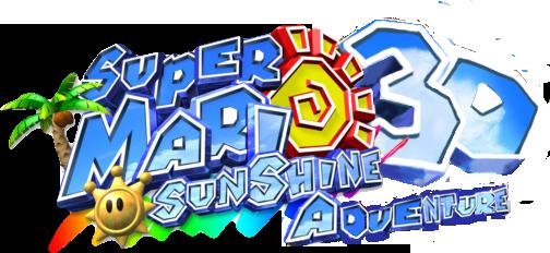 File:Super Mario Sunshine 3DAdventure logo.png
