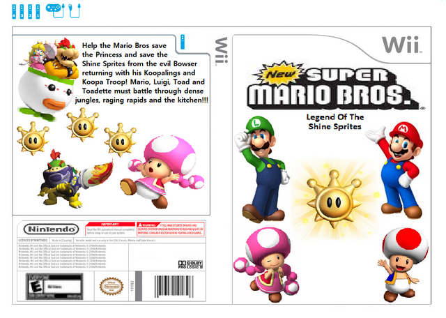 File:New Super Mario Bros. Legend Of The Shine Sprites.png