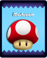 Super Mario & the Ludu Tree - Powerup Mushroom