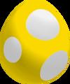 Golden Baby Yoshi Egg