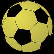 Football Ball Gold