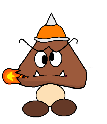 File:Fire Spiked Goomba.png