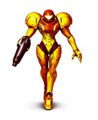 Samus Aran Golden