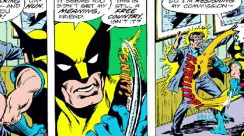Superhero Origins Wolverine