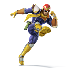 Captain Falcon character portrait