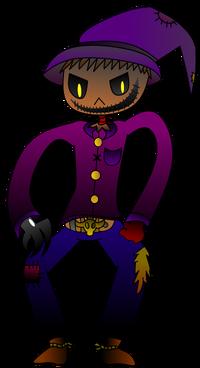 Scarecrow Kid by WereWaffle