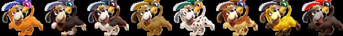 Duck Hunt Palette (SSB6)