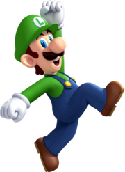Luigi - New Super Mario Bros U