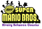 New Super Mario Bros. Rivalry Between Cousins 1 logo