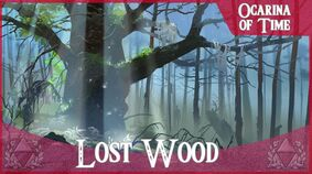 The lost woods by ani r-d6iff91