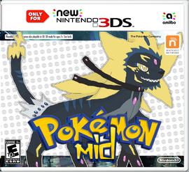 Pokemon Mid Box Art - NEW