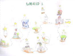 Yoshi Story 2 - World 1