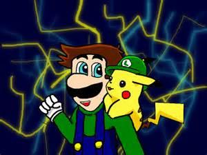 Luigi & Pikachu