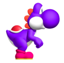 Purple YoshiSMWWii