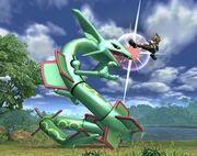 Smash Bros Brawl Rayquaza 2