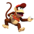 Diddy Kong.