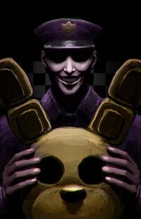 Fnaf purple guy by britneypringle-d8rh1t8