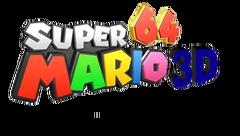 Super Mario 64 3D Logo