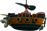 Bowser Jr 's Airship