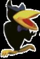 Spiteful crow clay