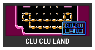 ACL -- Super Smash Bros. Switch stage box - Clu Clu Land