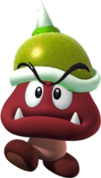 File:SpikeRedGoomba BW.png