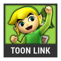ACL -- Super Smash Bros. Switch character box - Toon Link