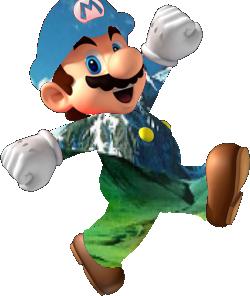 File:Transparent Mario.png