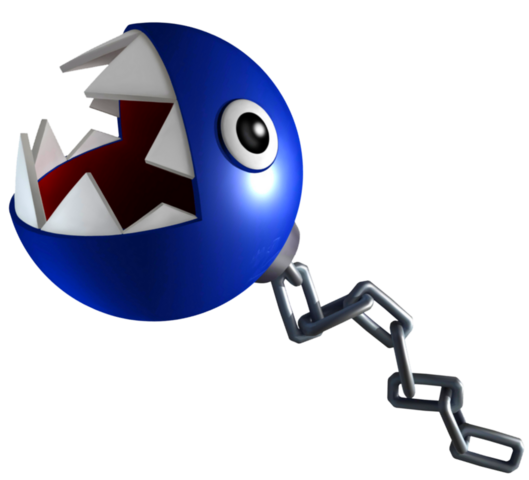 File:Blue Chain Chomp Art.png