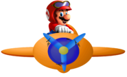NSMBS Sky Pop Mario