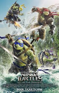 TMNT 2 UK 2016 poster