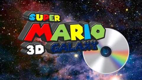 Super Mario 3D Galaxy Technocolor Mushroom