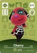 Ac amiibo card cherry