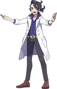 Sycamore - Pokemon X and Y