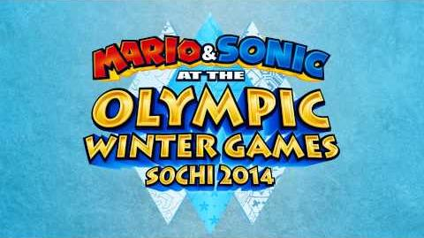 Buoy Base Galaxy - Mario & Sonic at the Sochi 2014 Olympic Winter Games
