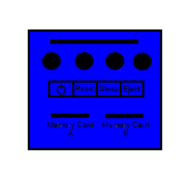 Blue Paper Player