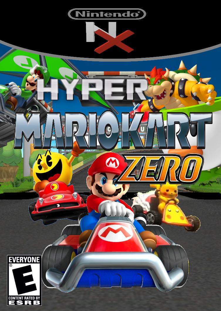 Hyper Mario Kart ZERO Box Art