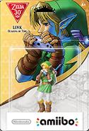 Amiibo - Zelda - Link Ocarina of Time - Box