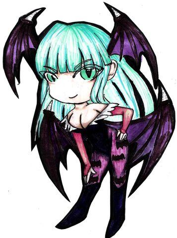 File:Morrigan chibi by DarkAnimePrincess.jpg